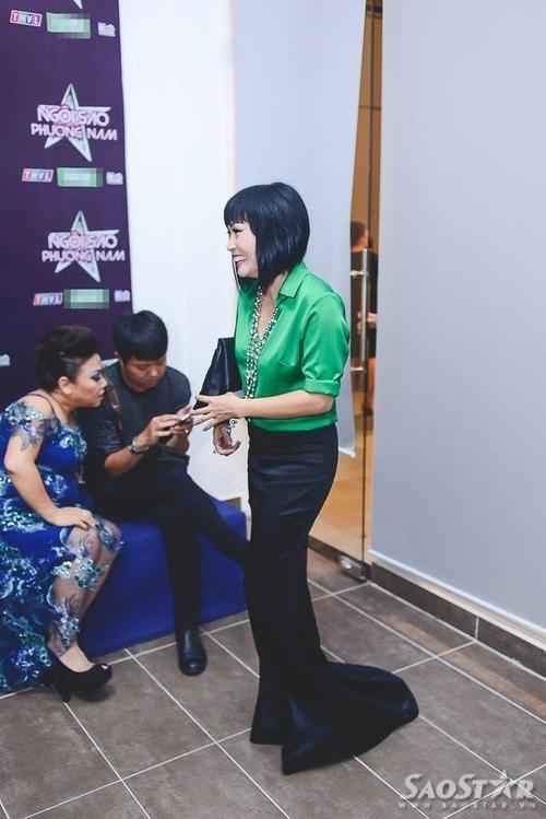 """Trong đêm chung kết chương trình """"Ngôi sao phương Nam"""" diễn ra vào tối qua (28/8) tại TP.HCM, những hình ảnh hậu trường của Phương Thanh và Siu Black tiếp tục dấy lên nghi án cả hai nữ ca sĩ đã thực sự kết thúc mối quan hệ tốt đẹp trước đó."""