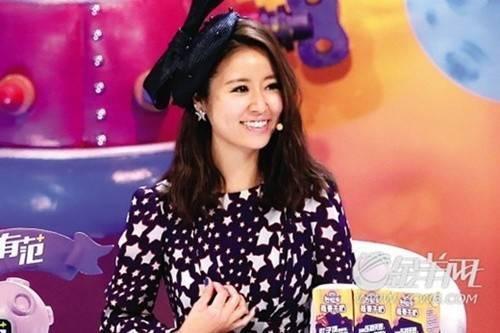 Lâm Tâm Như tham gia show truyền hình.