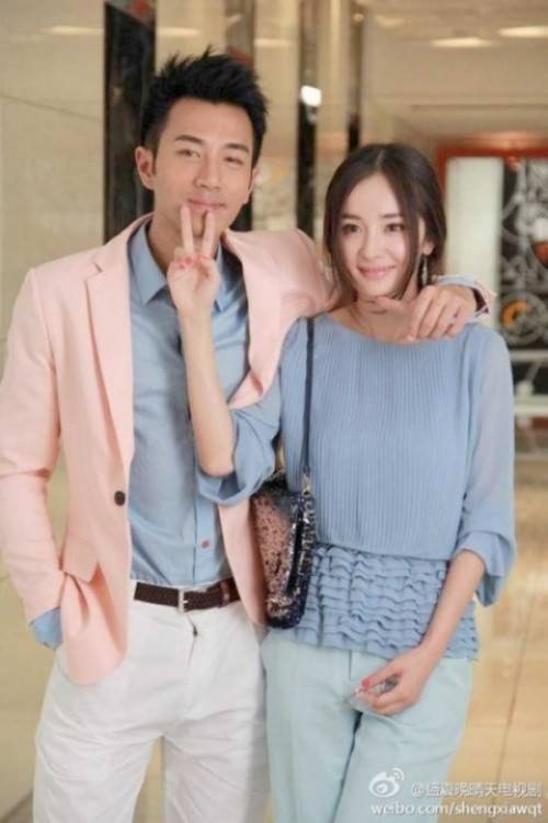 Lưu Khải Uy và Dương Mịch sau khi đóng chung phim.