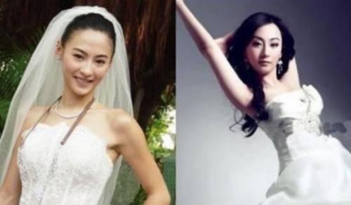 Trương Bá Chi và cô bản sao Mặc Hàm (phải). Trước Hàm, từng có người đẹp Tống Mễ cũng được cho rất giống Bá Chi.