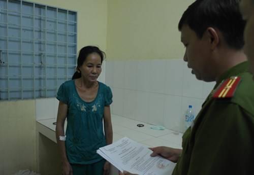 Nghi Phạm Nguyễn Thị Vân đã bị tạm giam để điều tra. (Ảnh: internet)