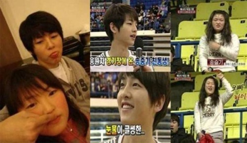 Năm ngoái, bức ảnh em gái Song Seul Ki của nam diễn viên Song Joong Ki gây xôn xao người hâm mộ bởi sự khác biệt khá lớn. Trong những bức ảnh chụp cùng em gái, mỹ nam xứ Hàn là người anh trai khá ân cần, chu đáo.