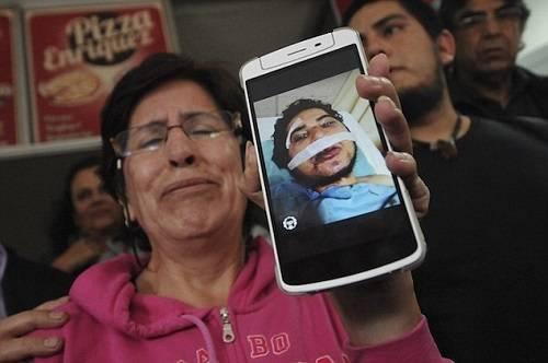 Ảnh của một nạn nhân trong vụ chém nhau đẫm máu.