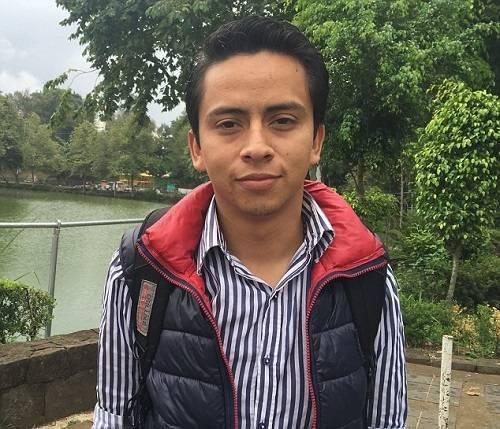 Carlos Landa, sinh viên Đại học Veracruz.