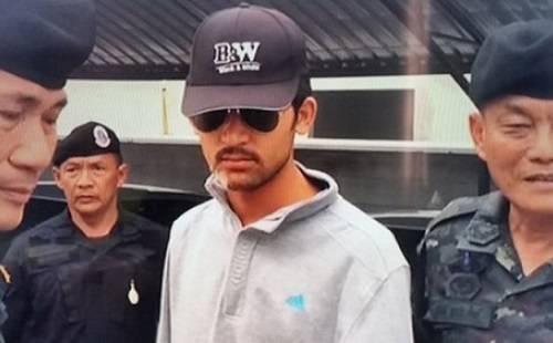 'Nghi phạm áo vàng' trong vụ đánh bom ở Bangkok.