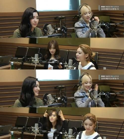 SNSD chia sẻ trong chương trình Kim Shin Young's Noon Song of Hope mới đây.