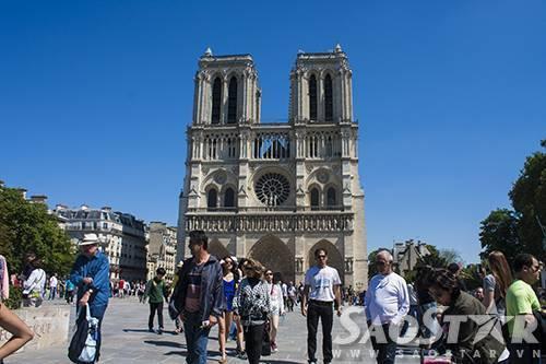 Nha tho Duc Ba Paris