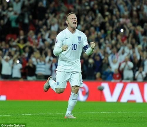 Bàn thắng giúp Rooney đi vào lịch sử bong đá Anh