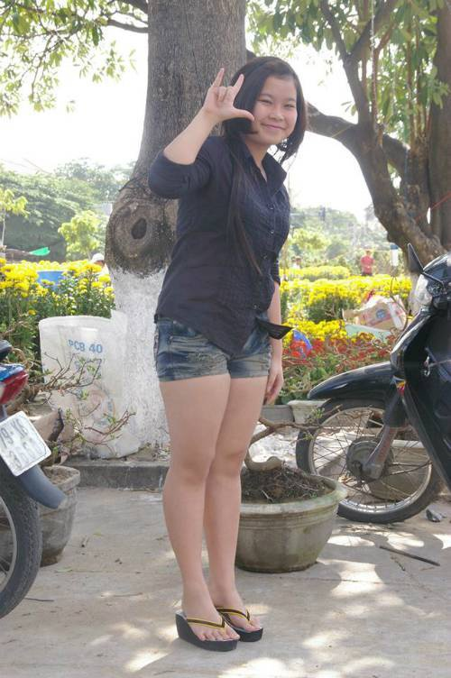 Tula Nguyễn ở thời điểm bị tăng cân không phanh.