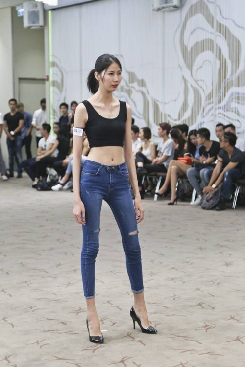 saostar - Vietnam Fashion Week - model - casting (21)