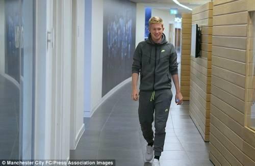 Vui với những chiến thắng của đội tuyển Bỉ, chắc chắn De Bruyne cũng hy vọng tái hiện ở Man City.