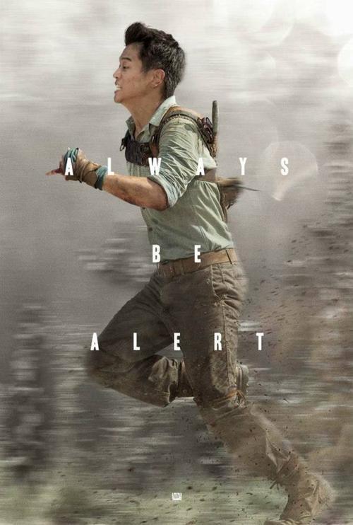 the maze runner_ki hong lee poster art