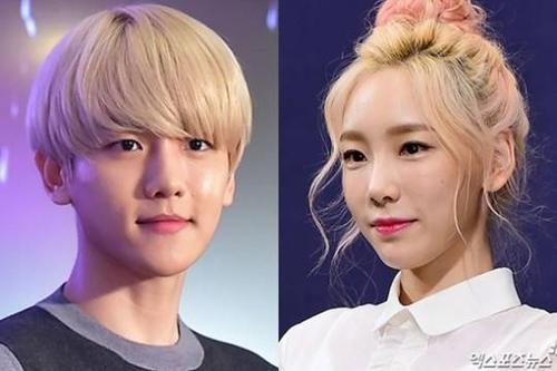 Taeyeon và Baekhyun liên tục chia tay rồi tái hợp.