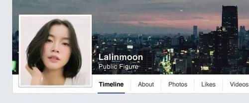 Lalin - cô nàng hot facr Thái Lan được nhiều người yêu mến.