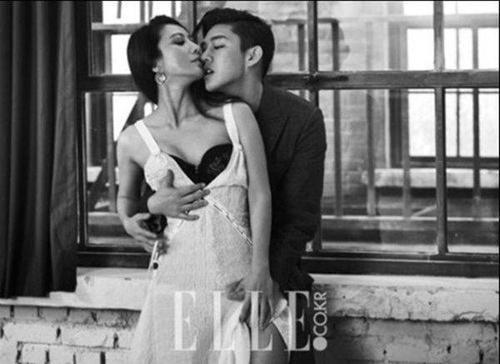 Nhân dịp bộ phim Secret Love Affair lên sóng, trai trẻ Yoon Ah In và đàn chị U50 Kim Hee Ae đưa nhau lên tạp chí tình tứ. Trong phim họ có mối tình cô giáo - học trò.
