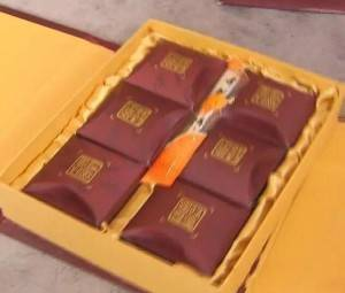 Hộp bánh Trung Thu được sản xuất từ năm 2005. (Nguồn: xinhuanet.com)