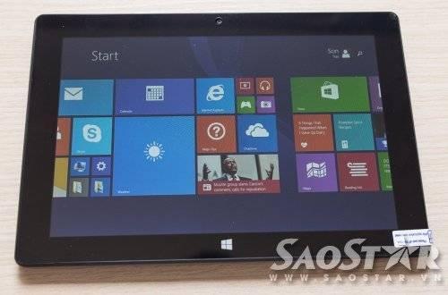 Máy được cài đặt sẵn Windows 8.1...
