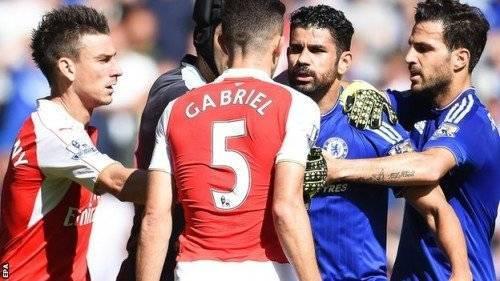 Án phạt dành cho Costa vì lối thi đấu thiếu Fairplay.