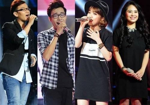 4 thành viên của đội Thu Phương: Hoàng Dũng, Anh Duy, Khánh Linh và Kiều Anh.