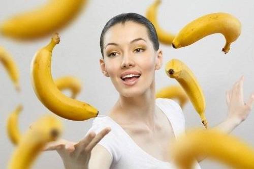 women banana