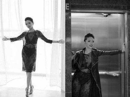 Cuối 2014, Tóc Tiên tung MV Tell My Why tận dụng triệt đệ lợi thế ngoại hình gợi cảm. Một trong những trang phục bỏng mắt của nữ ca sĩ trong MV là bộ nội y ren được Tóc Tiên khéo léo khoe qua chiếc váy xuyên thấu.