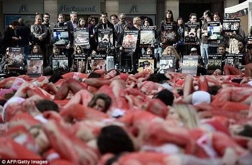 Tuần lễ không sử dụng thịt (WWAMs) đã được sử dụng để quảng bá cho ý tưởng 'bỏ sản xuất và tiêu thụ thịt của các loài động vật có cảm xúc.'