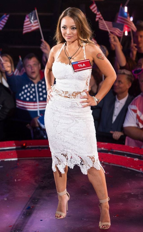 Tila Tequila tại Celebrity Big Brother.