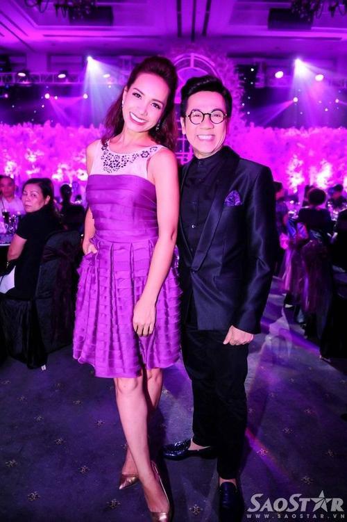Cựu người mẫu Thúy Hạnh và NSƯT Thành Lộc.