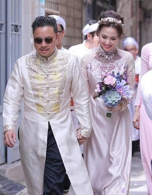 Victor Vũ làm đám hỏi với người đẹp Đinh Ngọc Diệp vào sáng ngày 4/10.