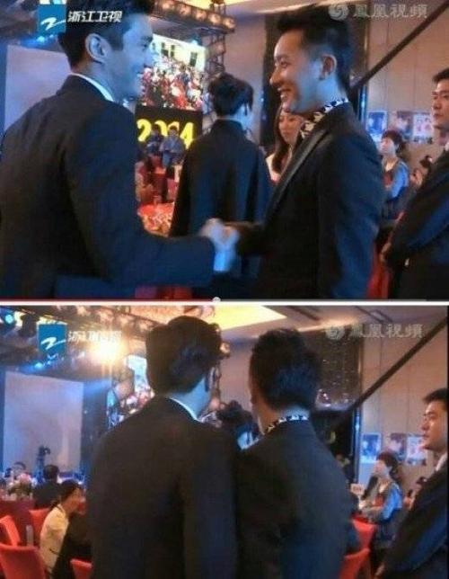 Năm 2014, thành viên Siwon của nhóm Super Junior chạm mặt người đồng đội cũ Hangeng tại bữa tiệc sinh nhật của Thành Long. Hangeng rời khỏi Super Junior từ năm 2009 sau vụ kiện tụng ầm ĩ với công ty chủ quản SM. Dù không còn trong nhóm, cả hai nhanh chóng chào hỏi, bắt tay nhau cười nói. Họ là 2 trong số khách mời của ngôi sao võ thuật Hong Kong.