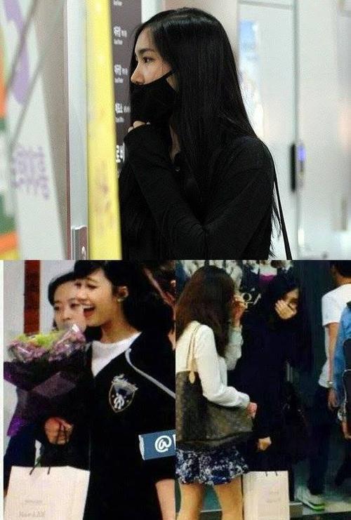 Năm 2013, thành viên Yookyung rút lui khỏi nhóm A Pink để tập trung vào việc học. Năm ngoái, Yookyung bị bắt gặp đến xem vở nhạc kịch do cô bạn cùng nhóm một thời Eunji diễn.