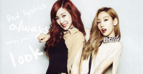 Tiffany và Taeyeon.