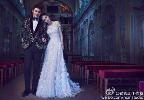 Angela Baby và Huỳnh Hiểu Minh chính thức hẹn hò từ năm 2009. Họ từng xảy ra tin đồn bỏ nhau vào năm 2012.