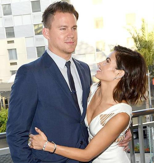 Vợ chồng Channing - Jenna.