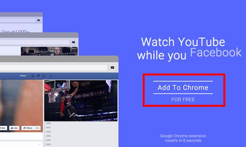 Tiện ích mở rộng Sideplayer cho Google Chrome được phát hành miễn phí.