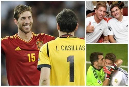 Sergio Ramos và Iker Casillas