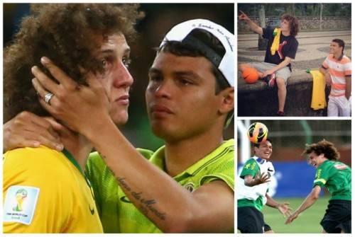 Thiago Silva và David Luiz