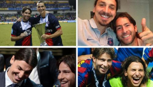 Zlatan Ibrahimovic và Maxwell Scherrer