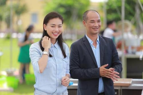 Ngo Thanh Van rang ro ben GK Tuan Hai