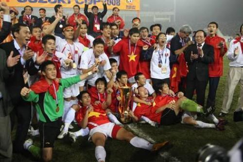 Việt Nam vô địch AFF Suzuki Cup 2008.