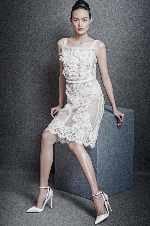 Một thiết kế đầm coctail sang trọng của Lâm Gia Khang.
