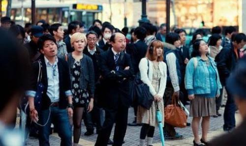 Người giàu ở Nhật có thói quen sống lẫn trong đám đông.