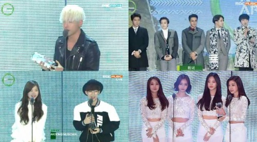 Melon Music Awards năm 2014.