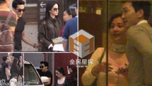 Cách đây vài ngày, hãng tin Phòng Hành đăng tải hình ảnh Lưu Diệc Phi và Song Seung Hun tình cảm tại quê nhà Vũ Hán của người đẹp. Cả hai sau đó cùng ở chung trong khách sạn.