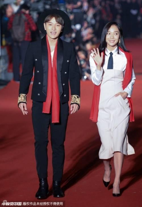 Giải Nãi Lượng và Vương Lạc Đan trong sự kiện.