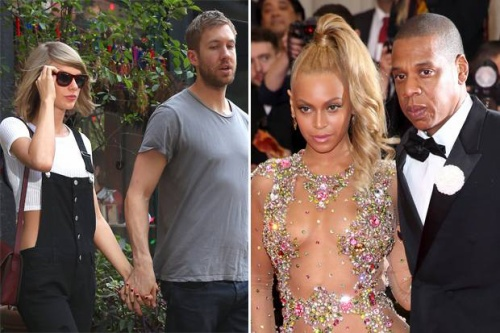 Nữ ca sĩ và bạn trai Calvin Harris dự báo sẽ thế chỗ vợ chồng Jay Z - Beyonce trong vị trí giàu nhất làng nhạc.