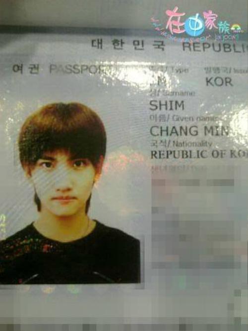 Changmin - thành viên nhóm TVXQ.