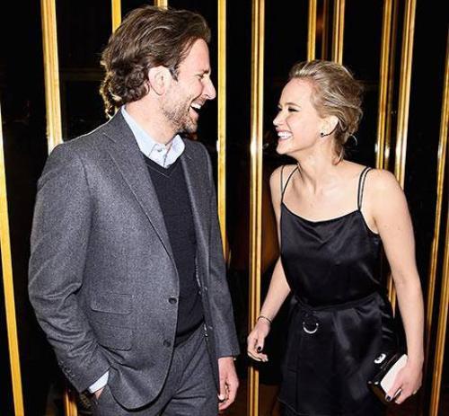 Cặp đôi màn ảnh Bradley Cooper và Jennifer Lawrence.