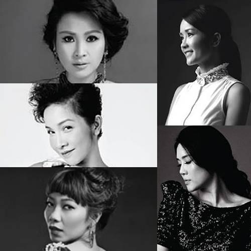 Thanh Lam, Mỹ Linh, Trần Thu Hà, Hồng Nhung và Thu Phương sẽ lần đầu tiên xuất hiện cùng nhau trên sân khấu.