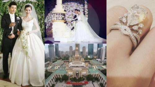 Đám cưới xa hoa nhưng 90% chi phí được tài trợ.